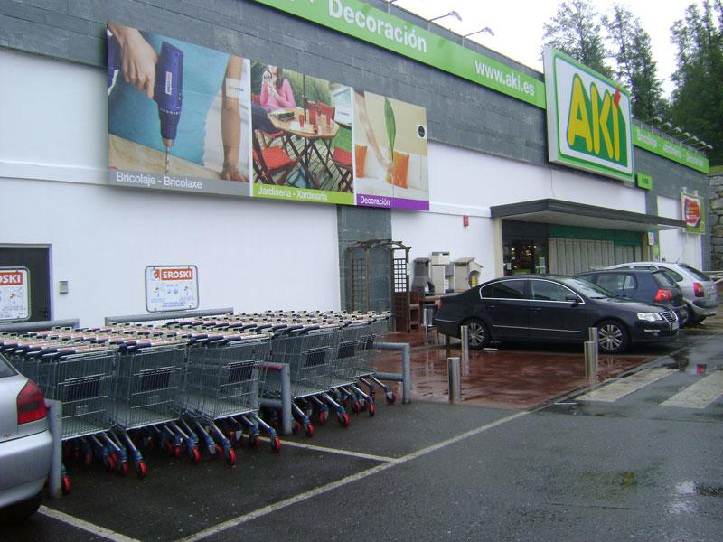 Aki bricolaje lugo centro comercial as termas for Centro comercial aki piscinas precio
