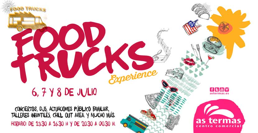 ¡Los Food Trucks llegan a As Termas!