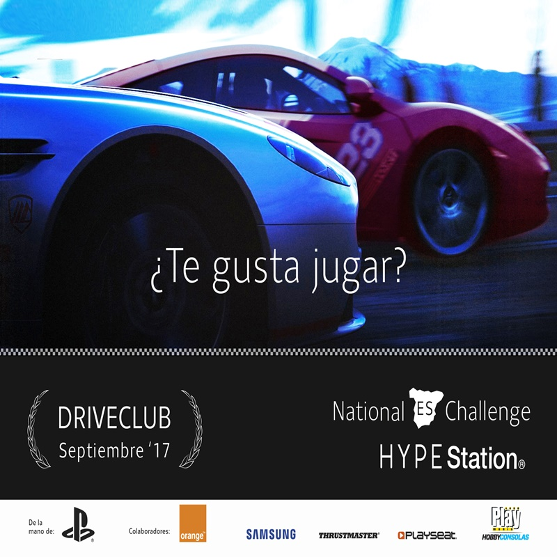 Driveclub National Challenge