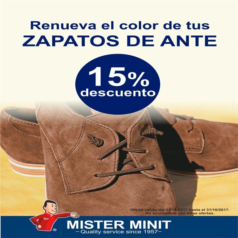 Renueva el color de tus zapatos de ante