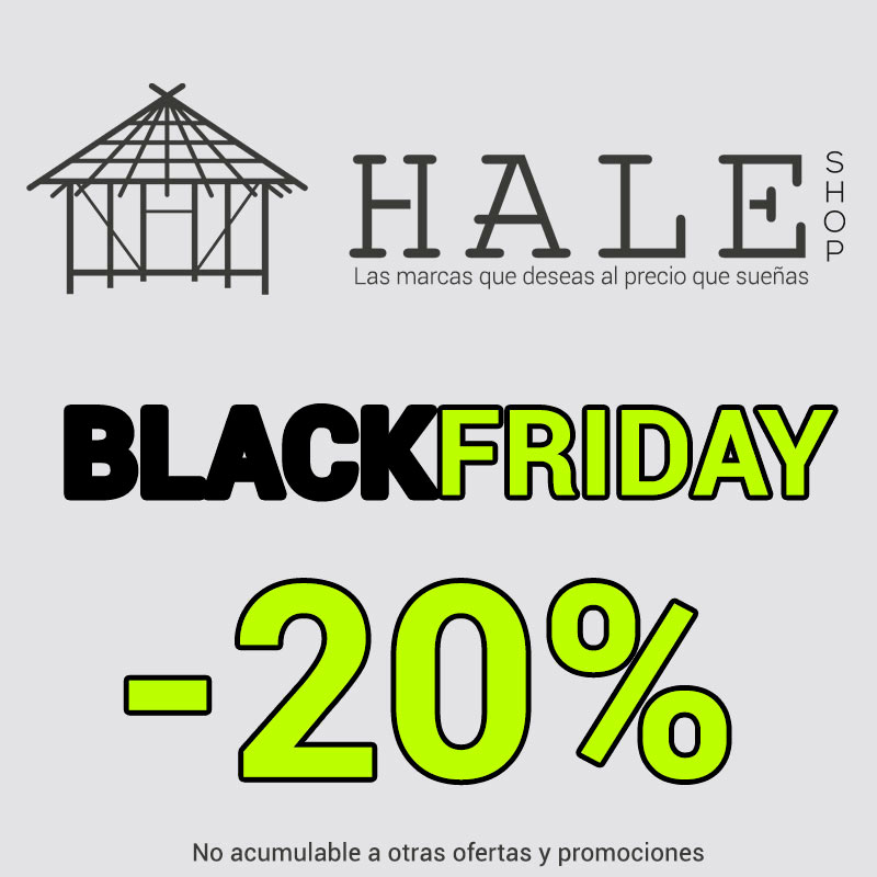 Black Friday en Hale Shop