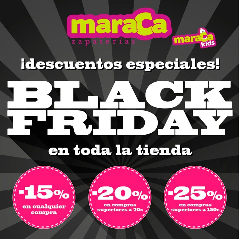 Black Friday en Maraca