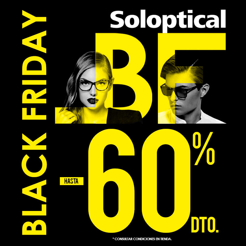 Black Friday en Soloptical
