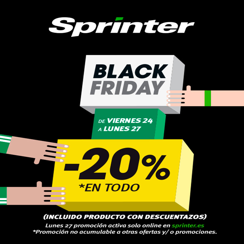 Black Friday en Sprinter