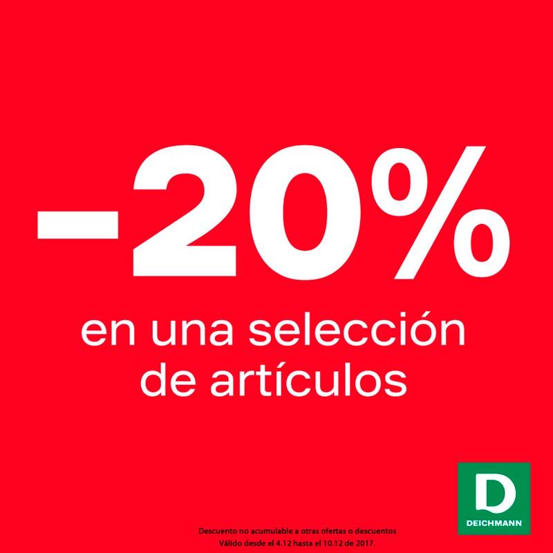 20% de descuento en Deichmann