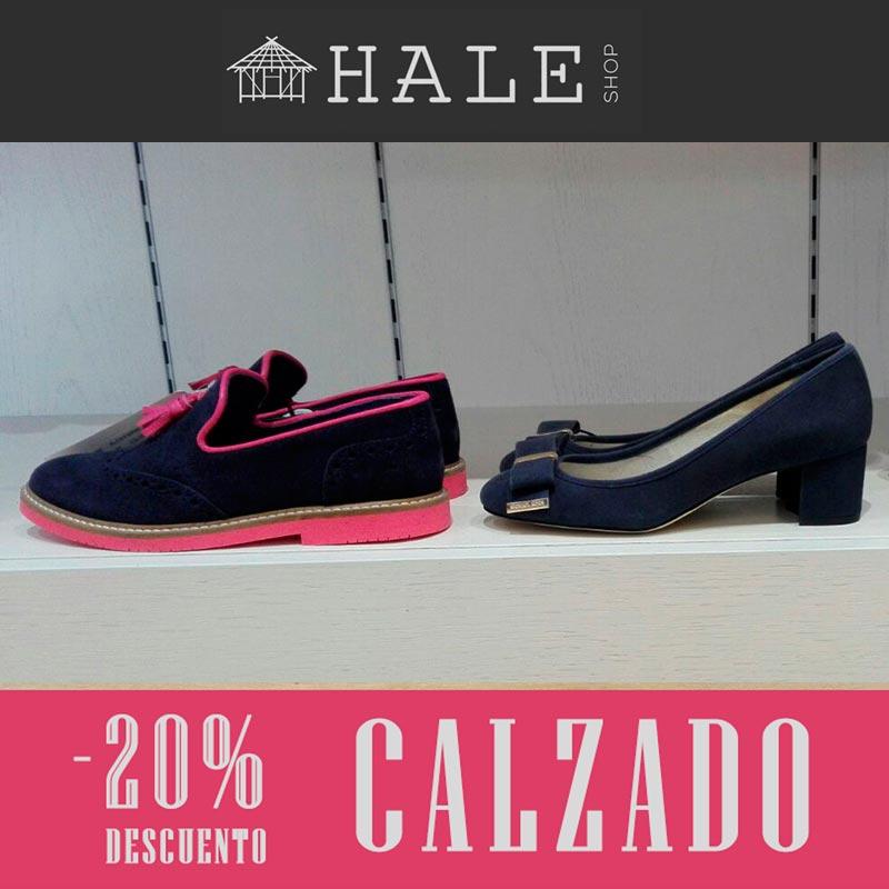 20% de descuento en calzado en Hale Shop