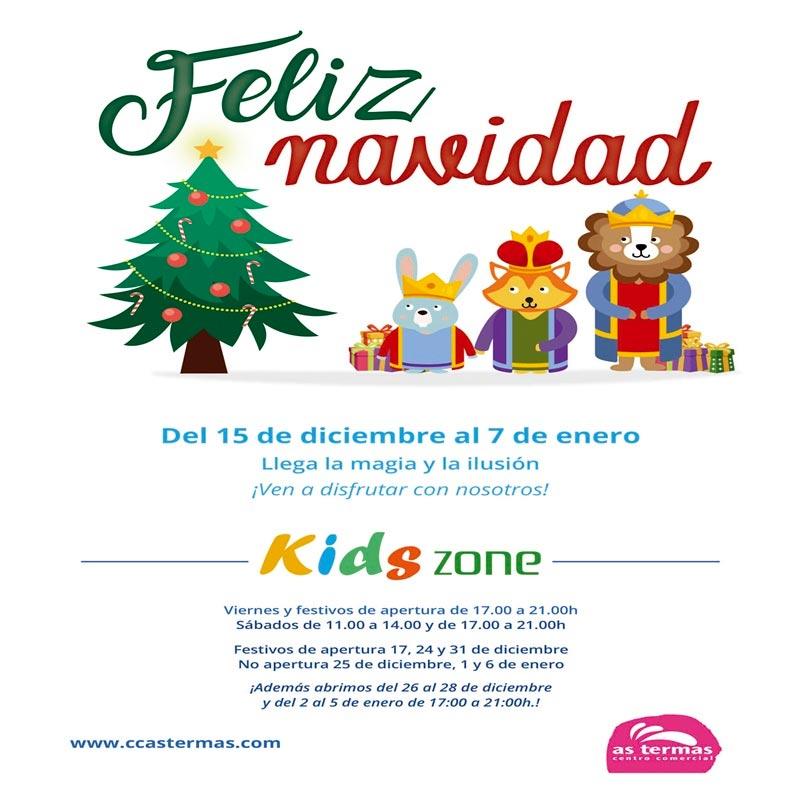 ¡La Navidad llega a Kids Zone!