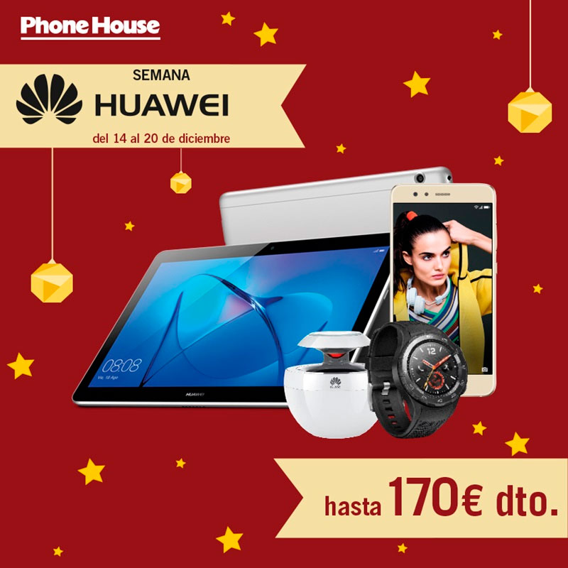 Semana especial Huawei en The Phone House