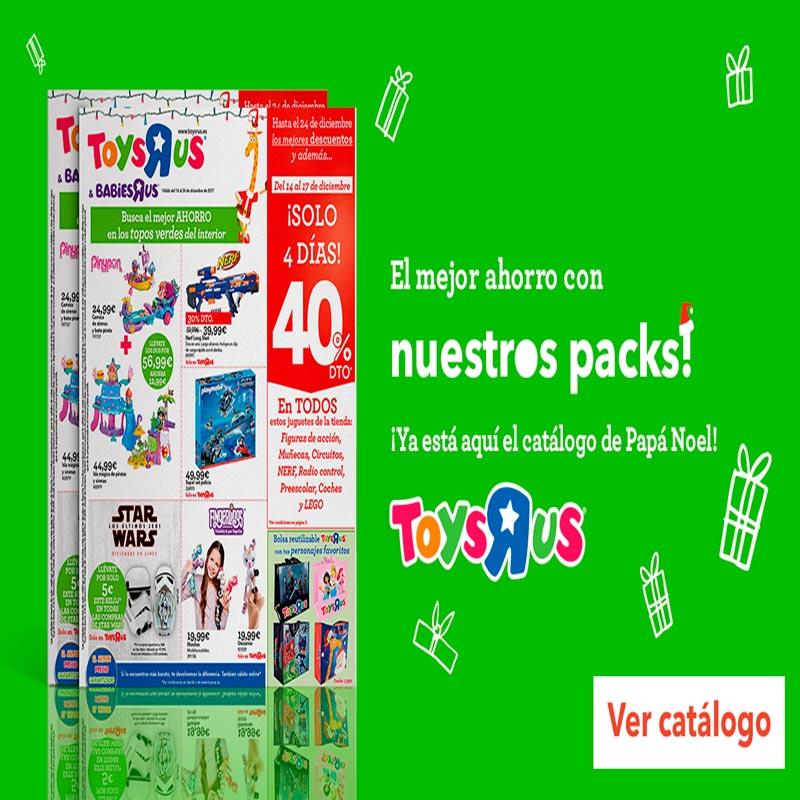 """Catálogo de Papá Nöel en Toys""""R""""Us"""