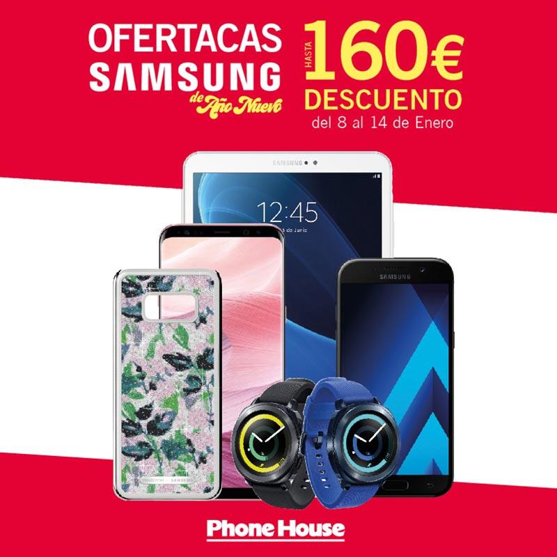 Ofertas Samsung de Año Nuevo en The Phone House