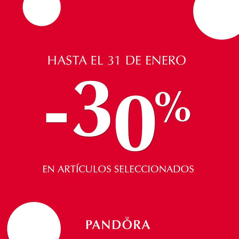 30% de descuento en Pandora