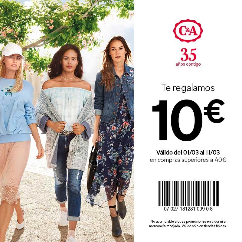 C&A 10€ Descuento
