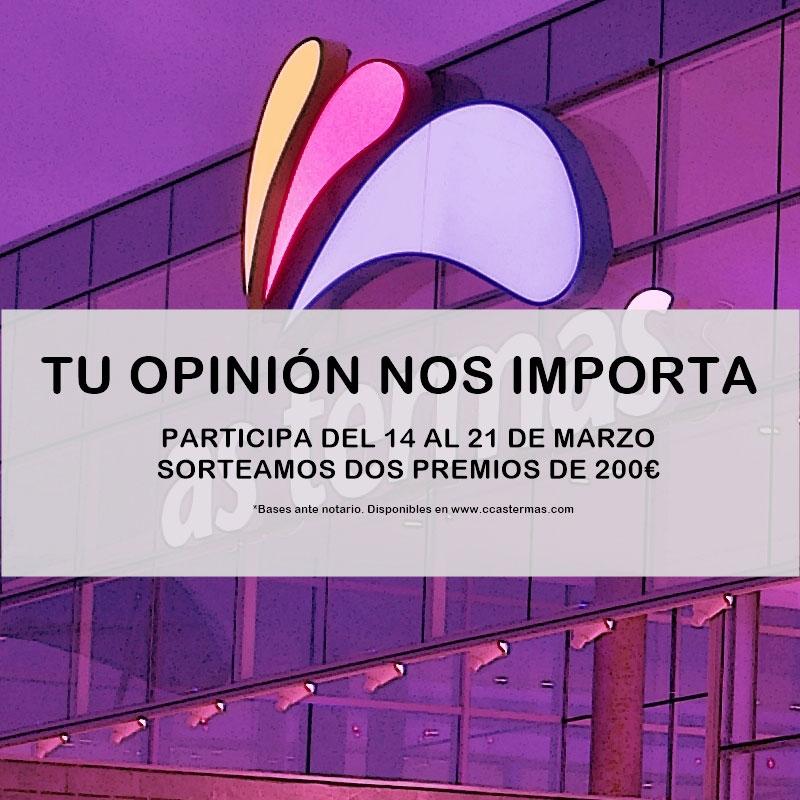 Tu opinión nos importa
