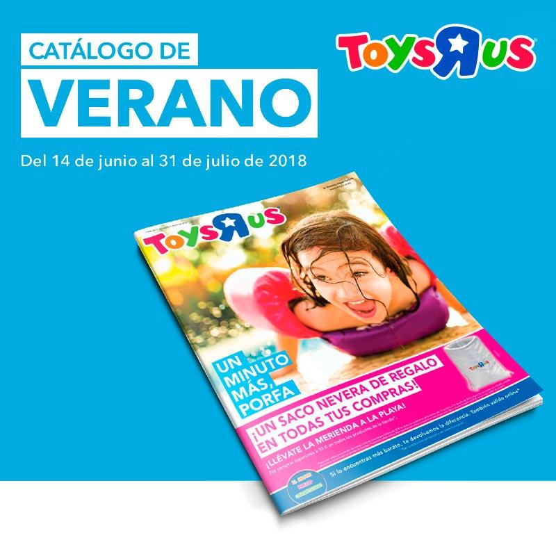 "Ya llegó el catálogo de verano de Toys""R""Us"