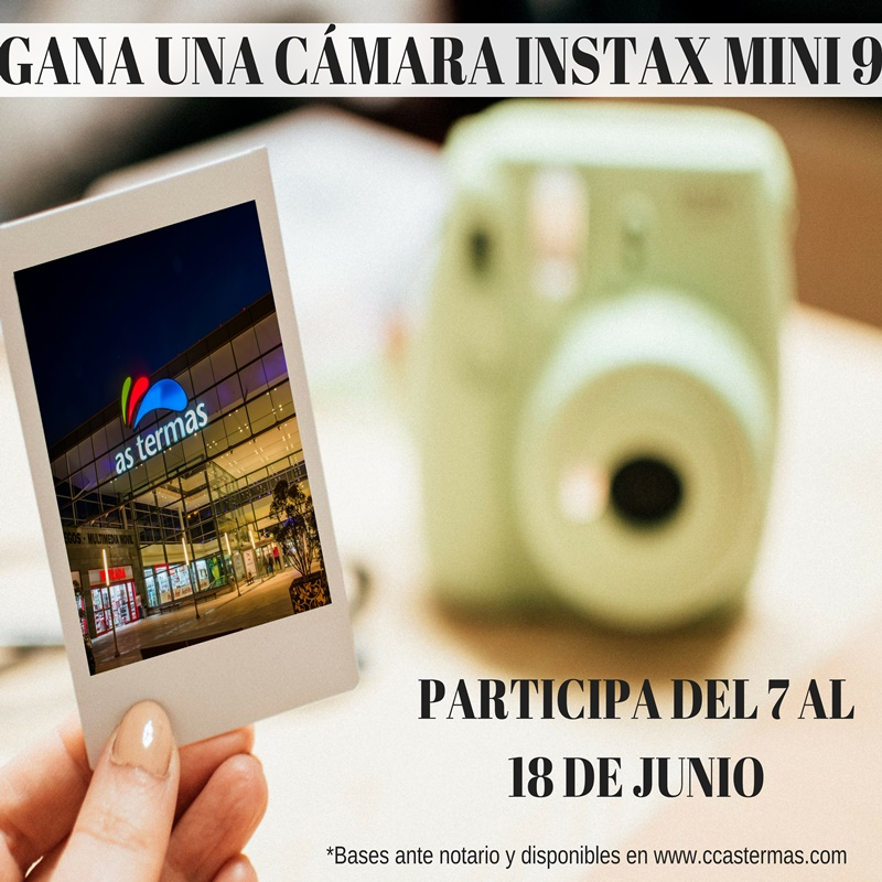 ¿Quieres ganar una cámara Instax Mini 9?