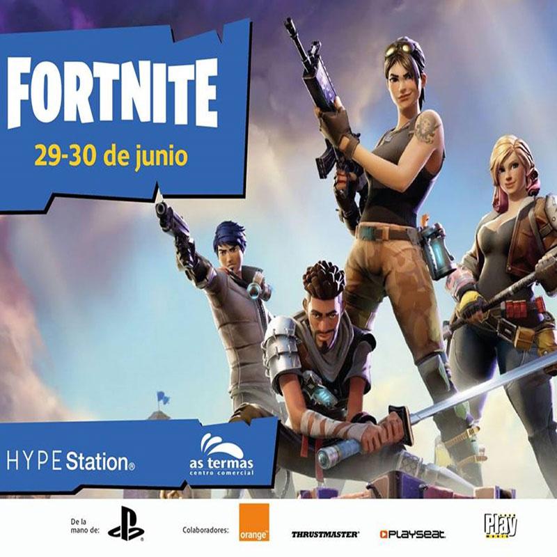 ¡Ven a la 1ª quedada Fortnite As Termas CC.!