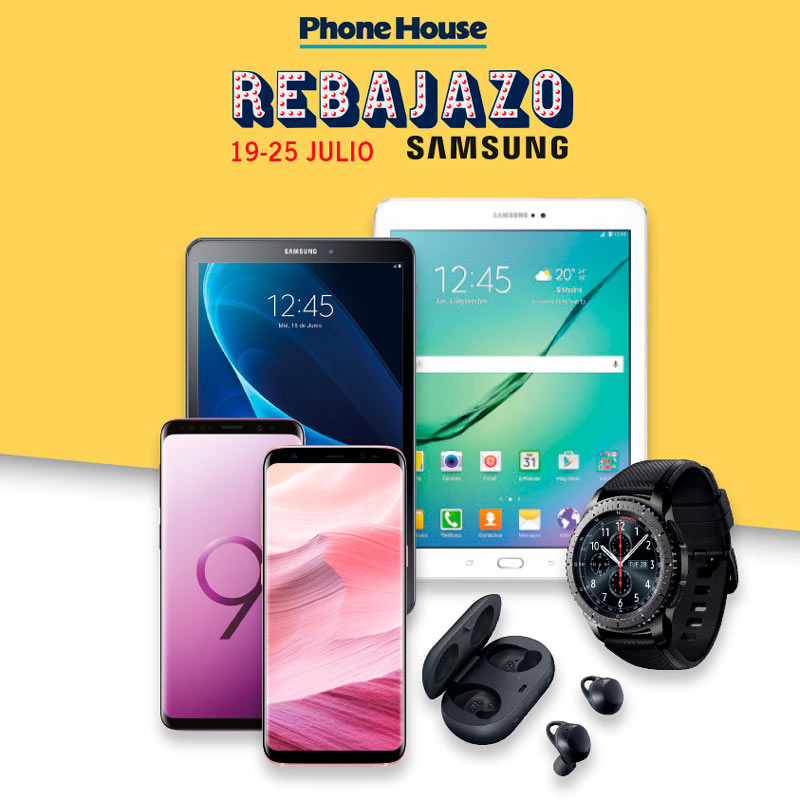 Especial Rebajazo Samsung
