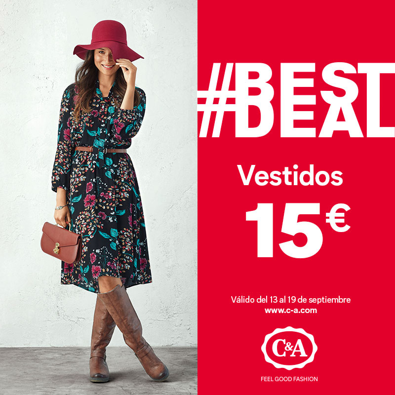 C&A BEST DEAL vestidos de mujer a 15€