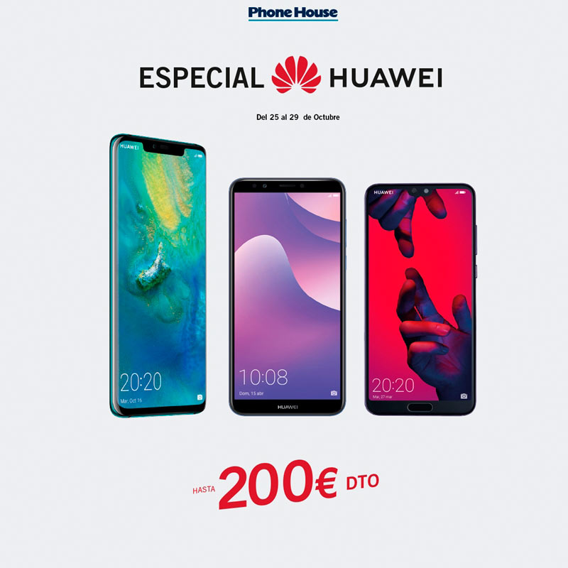 ¡Semana Especial Huawei en The Phone House!
