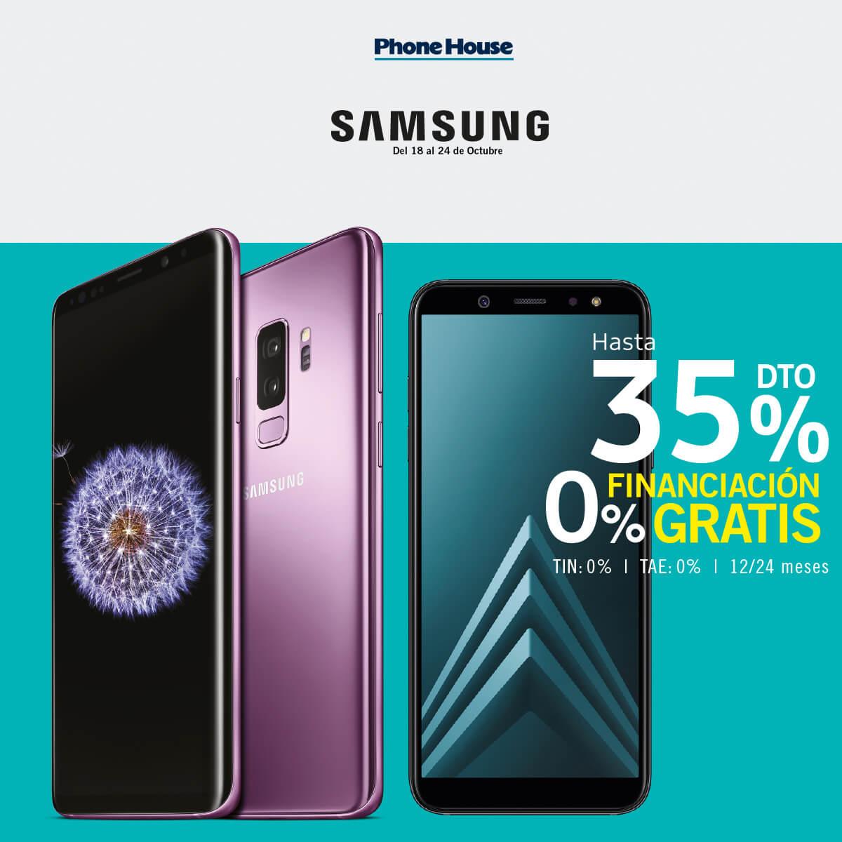 ¡Semana Samsung en The Phone House!