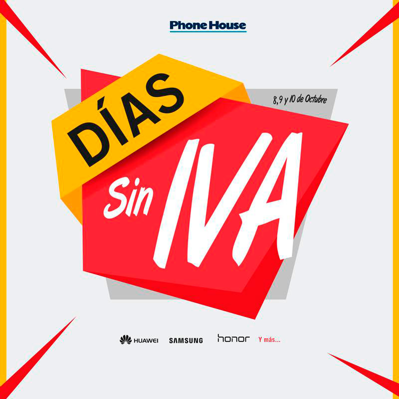 Días Sin IVA en The Phone House
