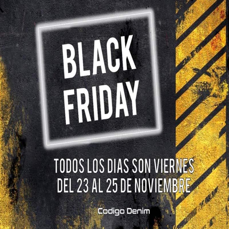 Black Friday en Código Denim