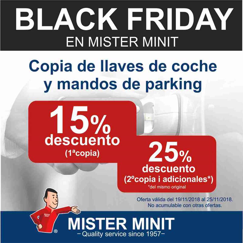 Black Friday en Mister Minit