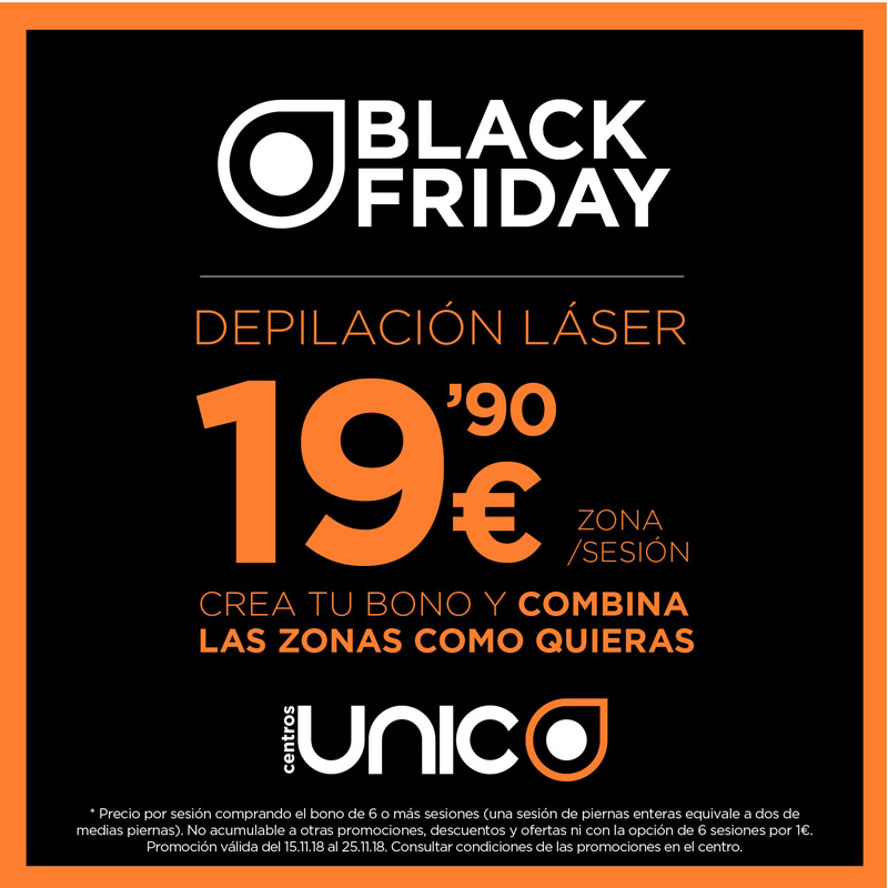 Black Friday en Centros Único