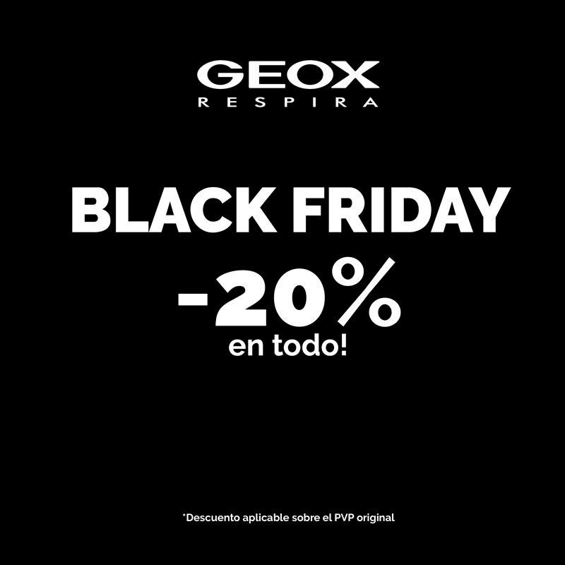 Black Friday en Geox