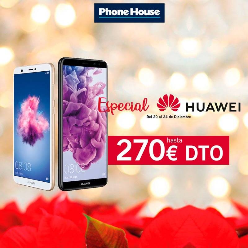 Especial Huawei en The Phone House