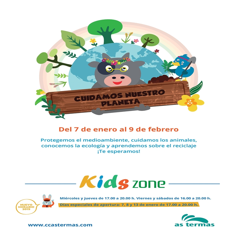 KIDS ZONE: ¡CUIDAMOS NUESTRO PLANETA!