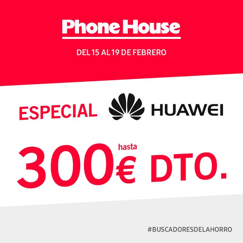 ¡Especial Huawei en The Phone House!