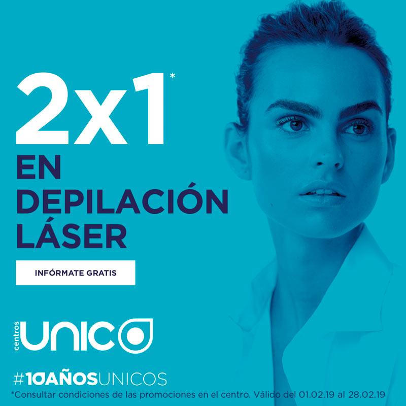 2×1 en Depilación Láser y Estética