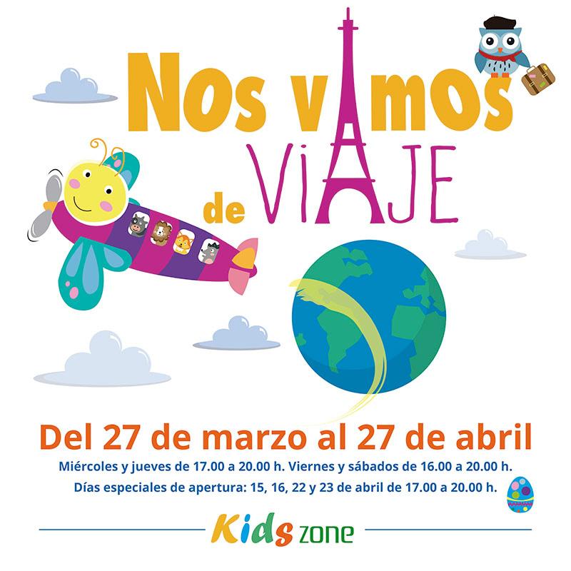 Kids zone: ¡Nos vamos de viaje!
