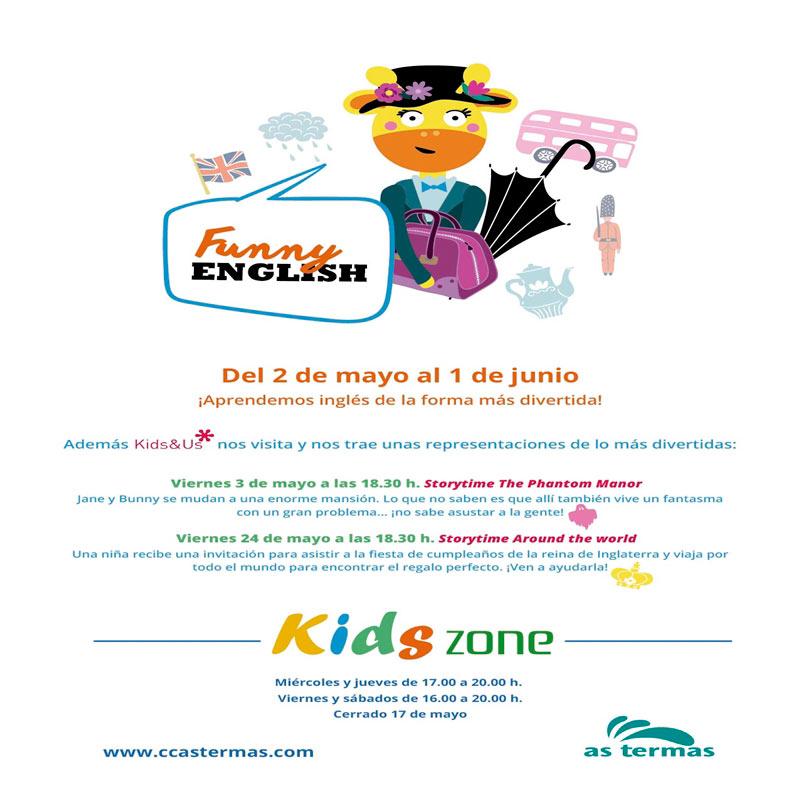 KIDS ZONE: FUNNY ENGLISH