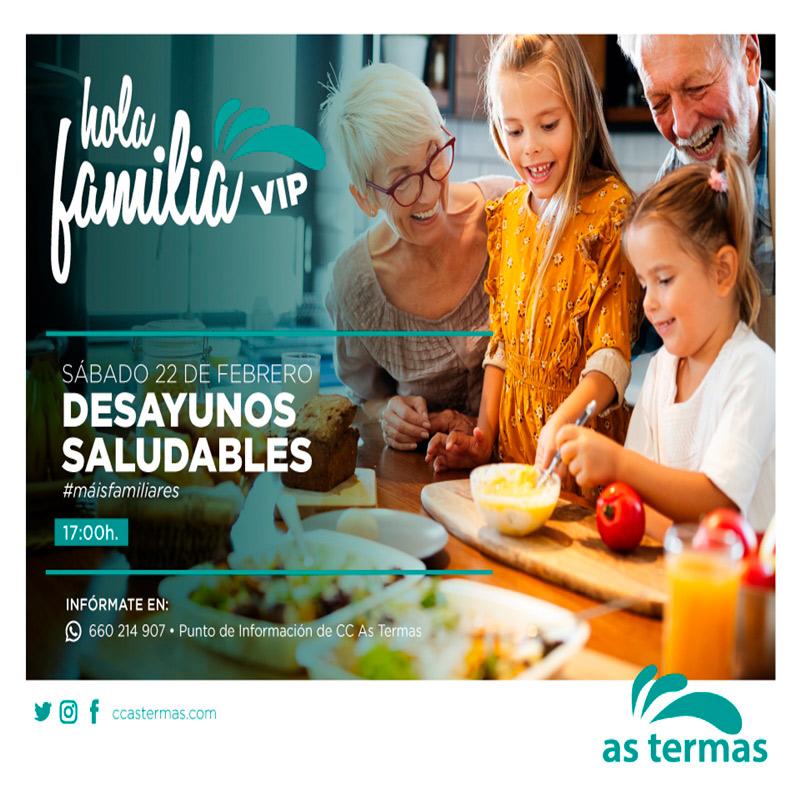 Hola Familia: Desayunos Saludables