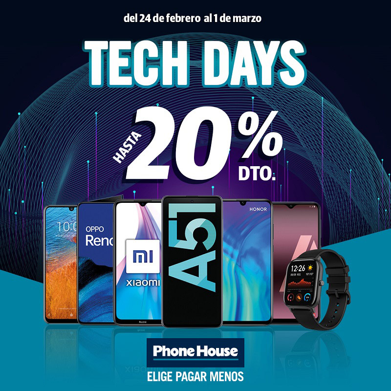 Promociones Phone House As Termas
