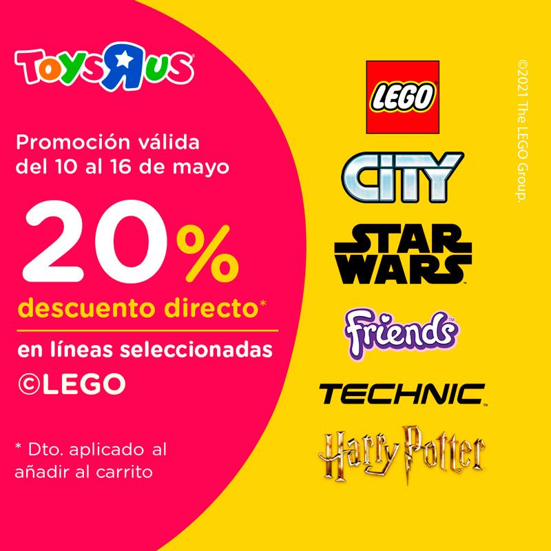 """Promociones Toys """"R"""" Us As Termas"""