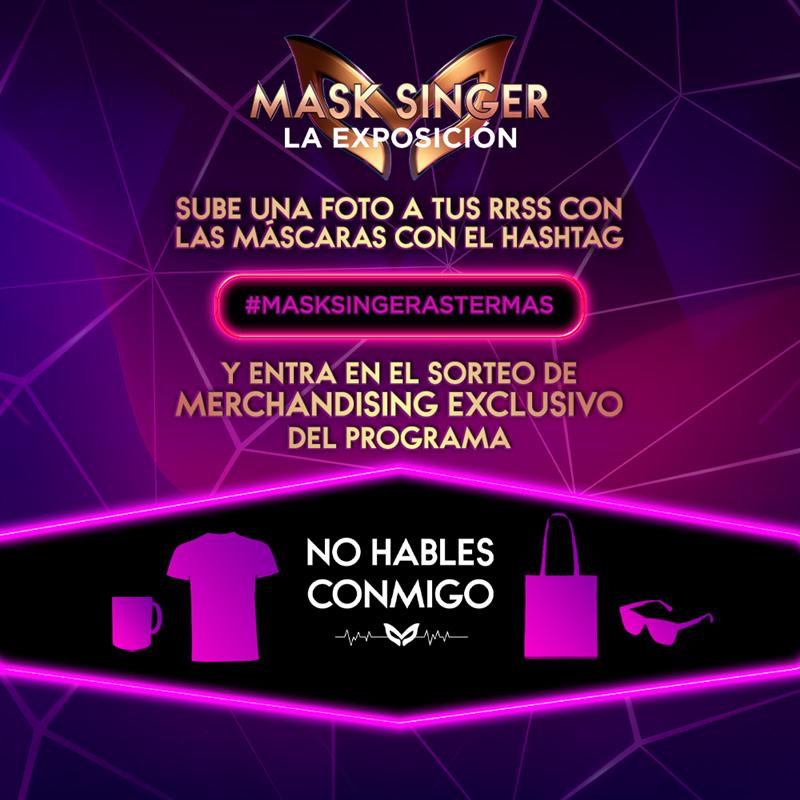 Sorteo pack de merchandising exclusivo de Mask Singer